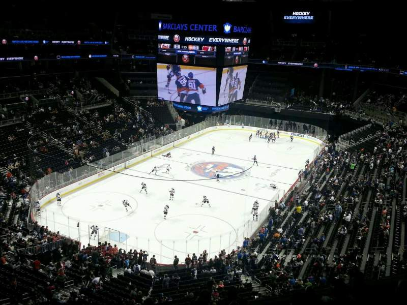 Seating view for Barclays Center Section 213 Row 7 Seat 6