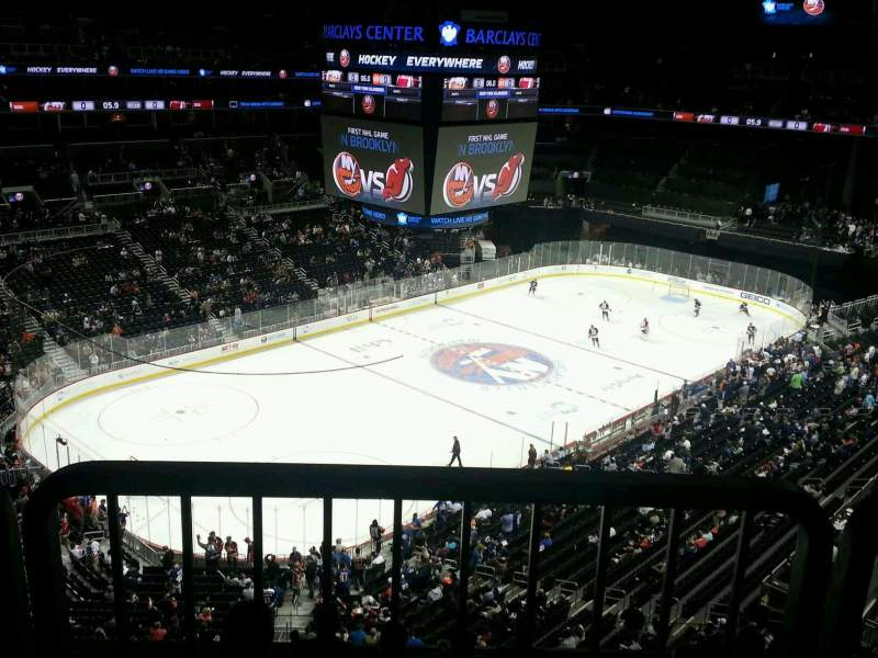 Seating view for Barclays Center Section 212 Row accessible