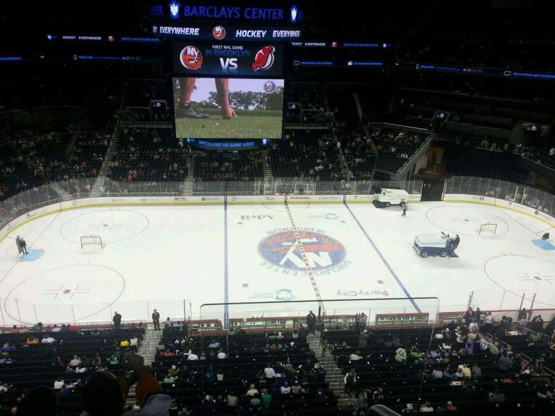 Seating view for Barclays Center Section 209 Row 2 Seat 5