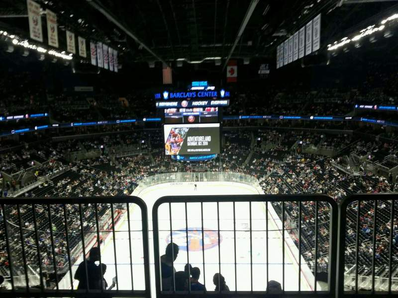 Seating view for Barclays Center Section 231 Row accessible