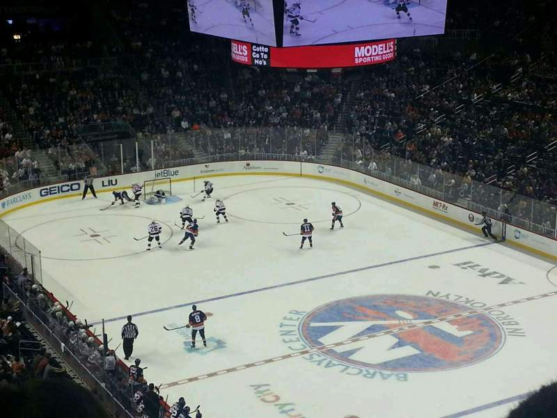 Seating view for Barclays Center Section 203 Row 3 Seat 15