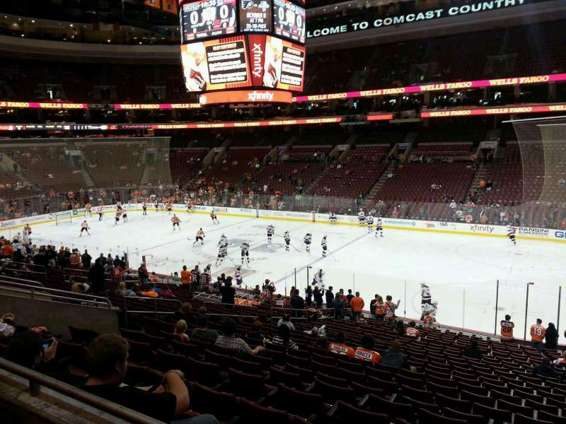 Seating view for Wells Fargo Center Section Club Box 3 Row 2 Seat 12