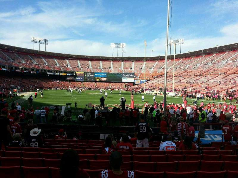 Seating view for Candlestick Park Section 3 Row k Seat 9