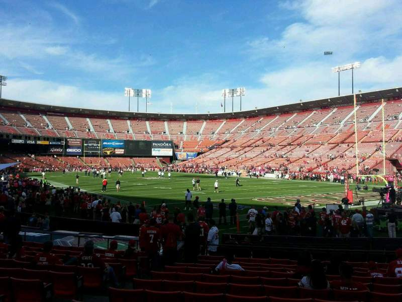 Seating view for Candlestick Park Section 2 Row l Seat 13