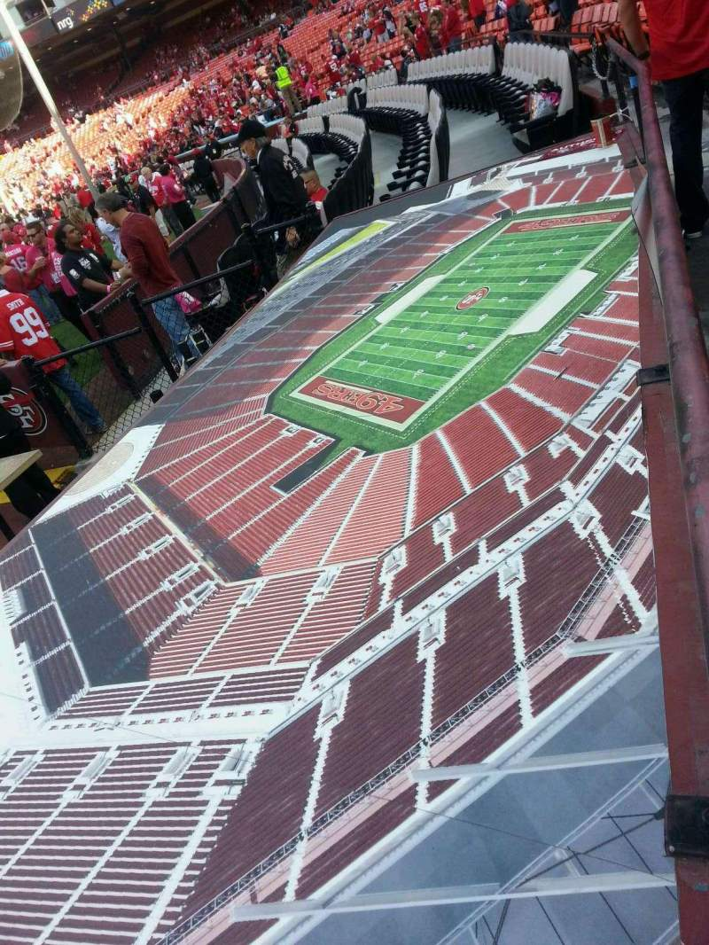 Seating view for Candlestick Park Section 4 Row a Seat 10