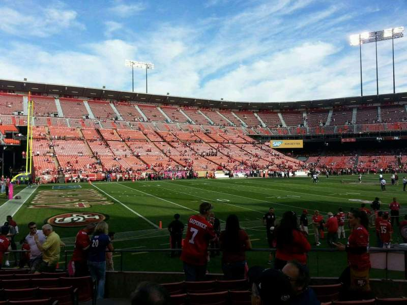 Seating view for Candlestick Park Section 24 Row 11 Seat 15