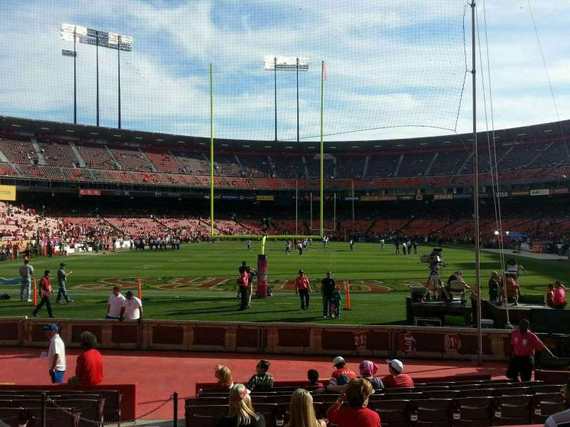 Seating view for Candlestick Park Section 36 Row 7 Seat 14