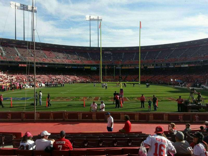 Seating view for Candlestick Park Section 38 Row 8 Seat 8