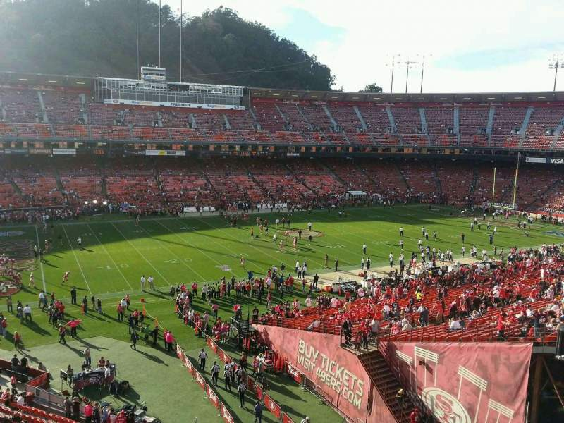 Seating view for Candlestick Park Section 31 Row c Seat 14