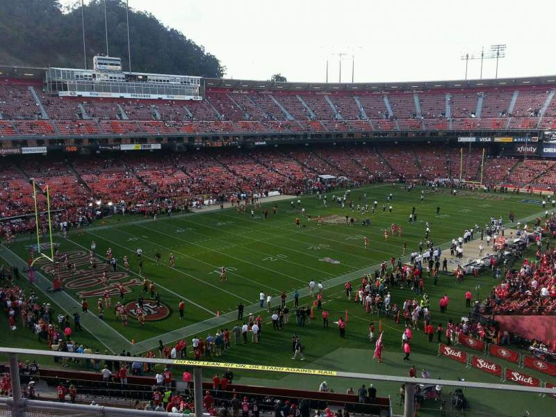 Seating view for Candlestick Park Section 23 Row d Seat 8