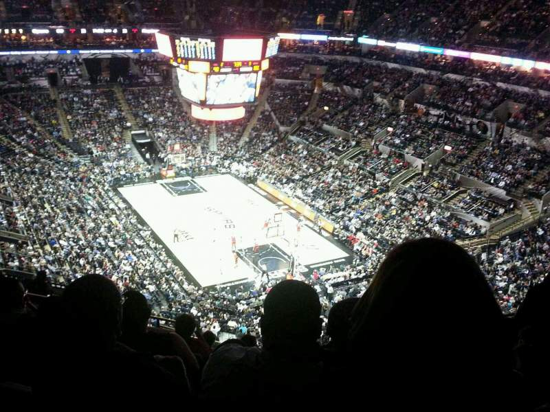 Seating view for AT&T Center Section 218 Row 13 Seat 13