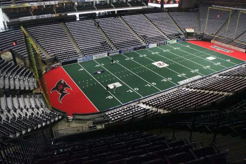 Jacksonville Veterans Memorial Arena, section: 324, row: G, seat: 6