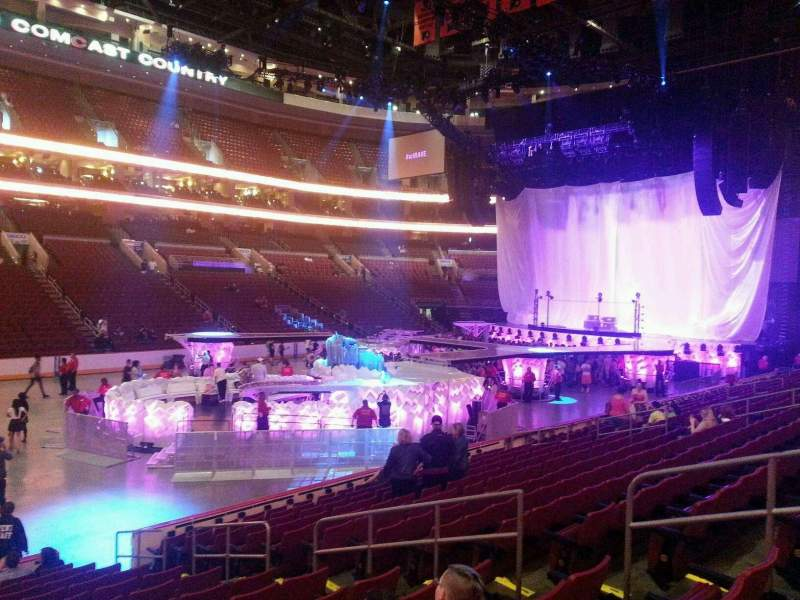 Seating view for Wells Fargo Center Section 111 Row 14 Seat 12