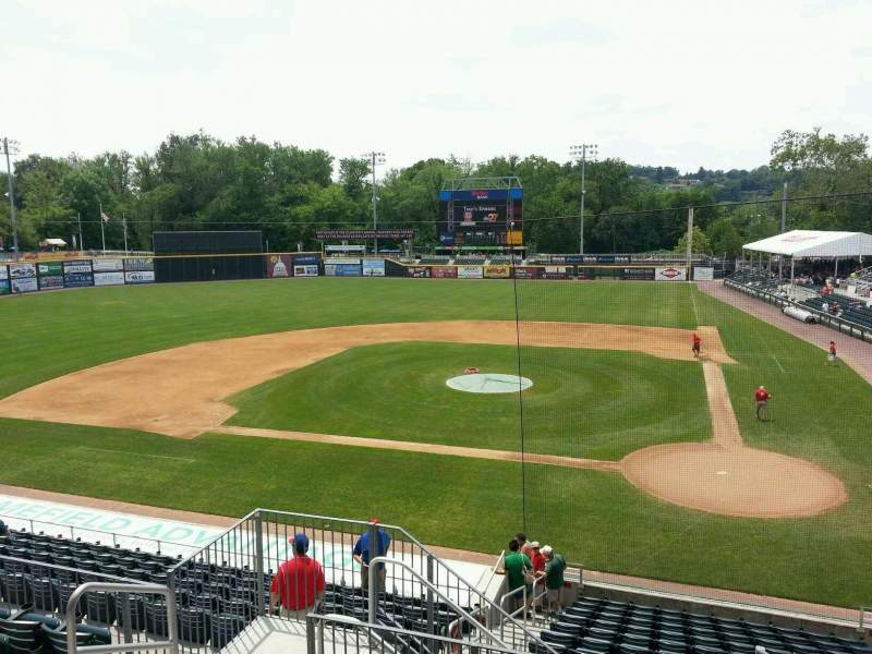 Seating view for FNB Field Section 202 Row 6 Seat 6