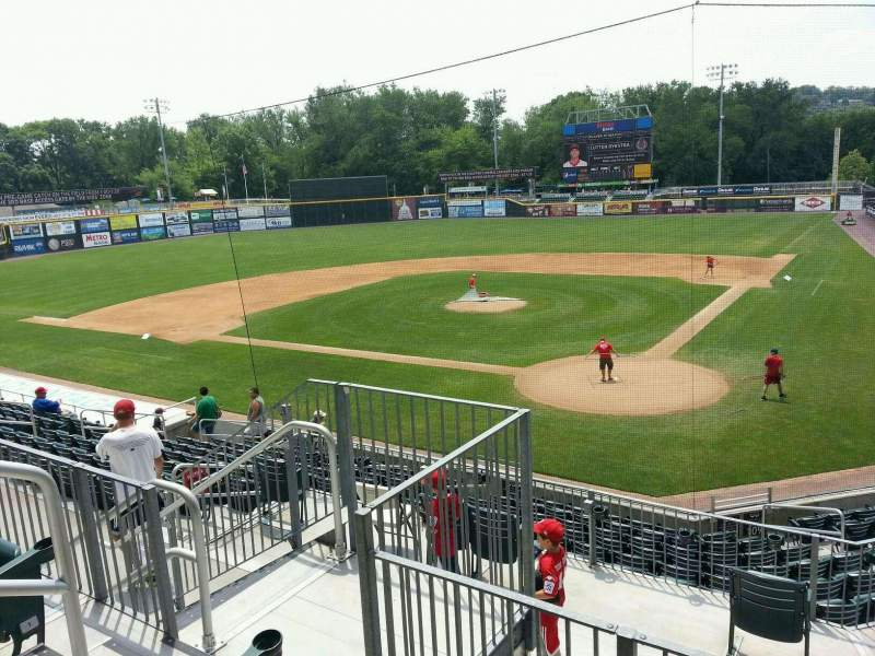 FNB Field, section: 203, row: 3, seat: 4