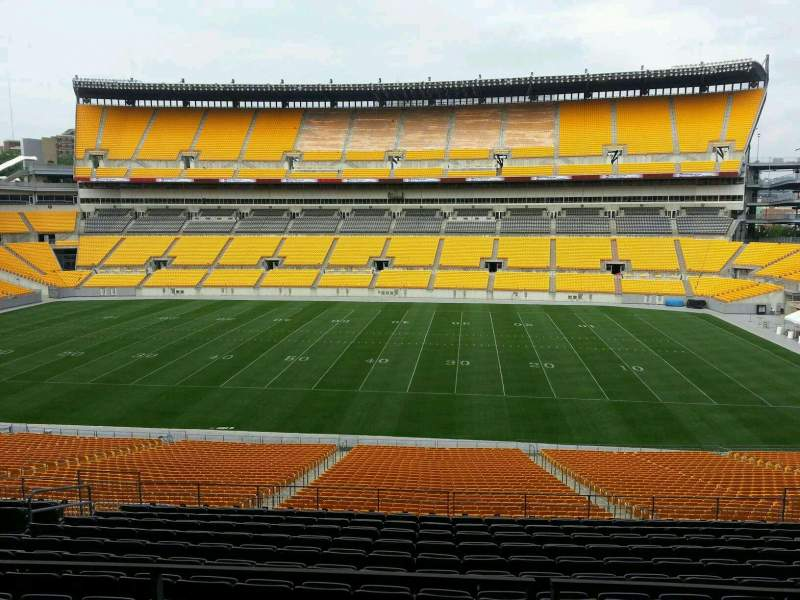 Seating view for Heinz Field Section 236 Row n Seat 8