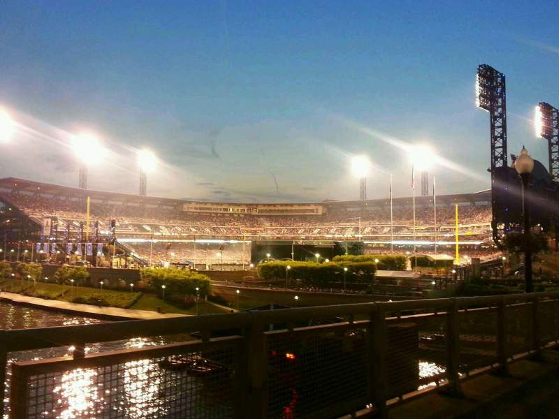 Seating view for PNC Park Section Clemente Bridge