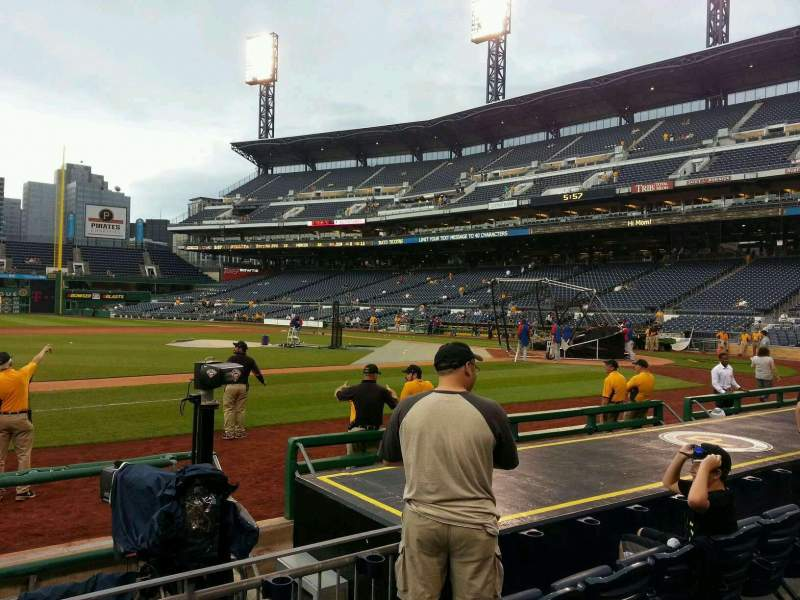 Seating view for PNC Park Section 23 Row j Seat 12