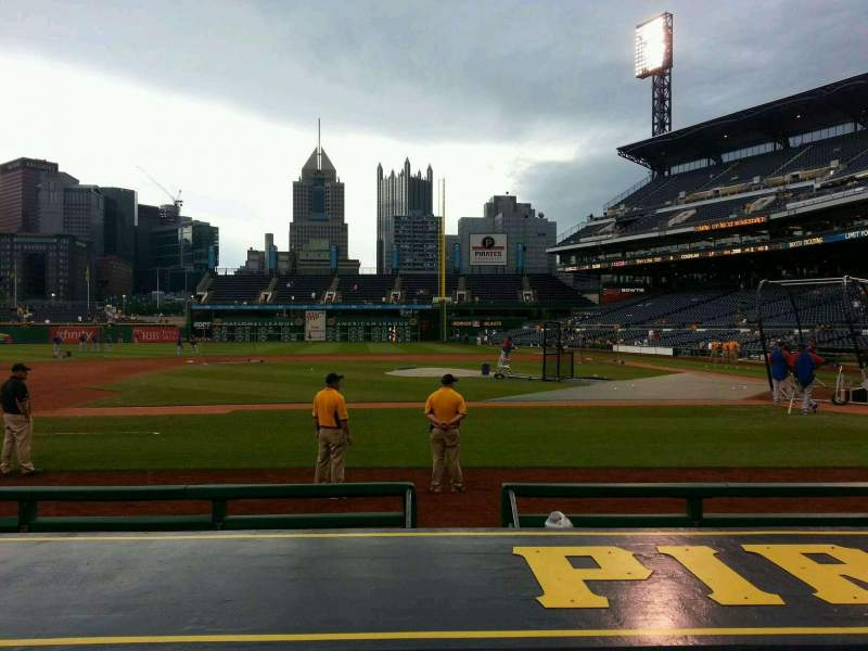 Seating view for PNC Park Section 22 Row j Seat 6