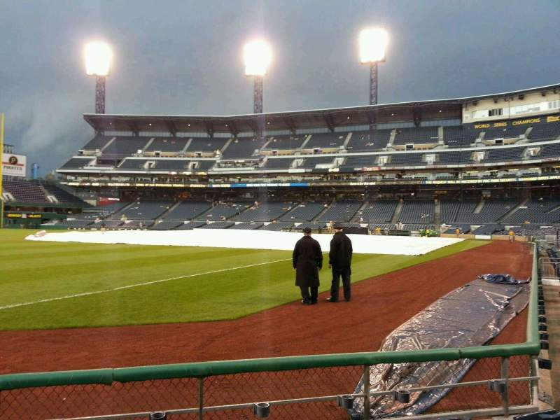 Seating view for PNC Park Section 30 Row e Seat 3