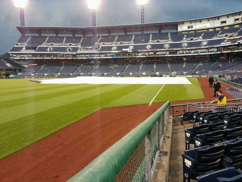 Seating view for PNC Park Section 32 Row l Seat 9