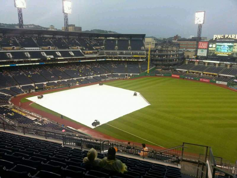 Seating view for PNC Park Section 302 Row s Seat 1