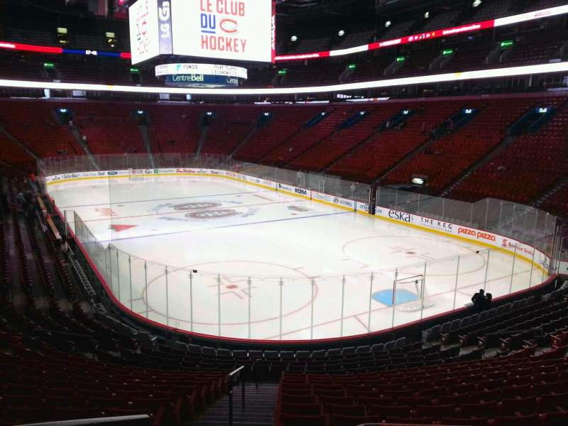Seating view for Centre Bell Section 120 Row m Seat 20