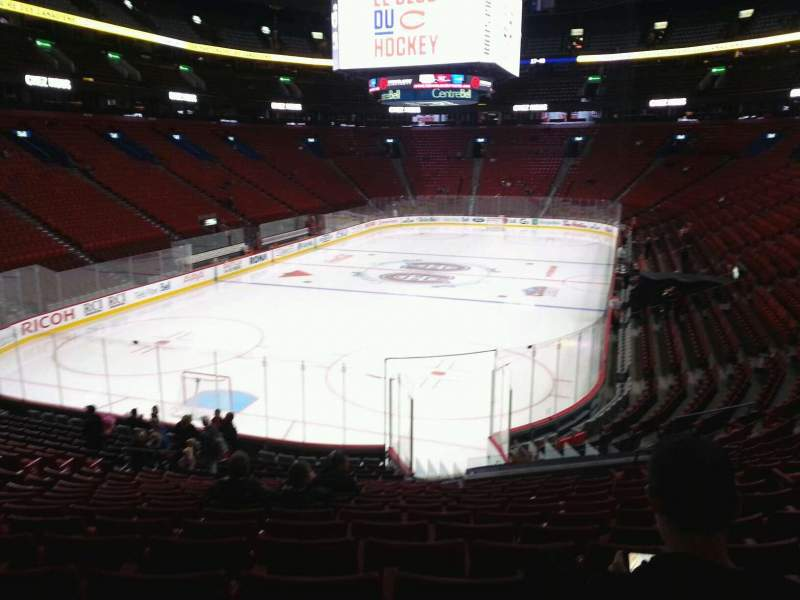 Seating view for Centre Bell Section 118 Row p Seat 7