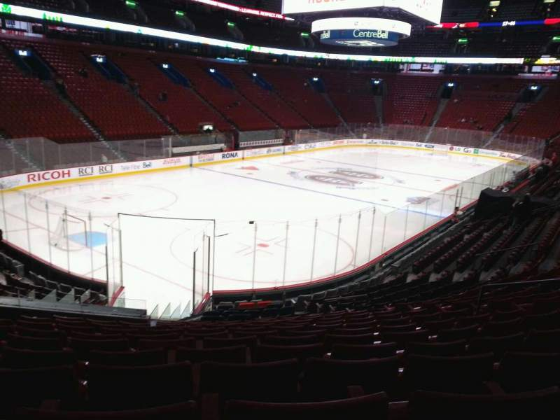 Seating view for Centre Bell Section 117 Row m Seat 10