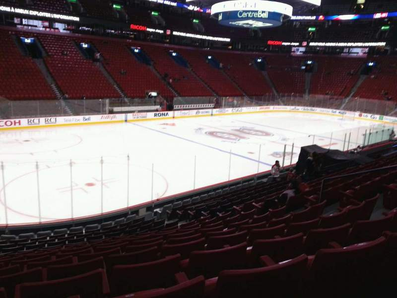 Seating view for Centre Bell Section 116 Row k Seat 10