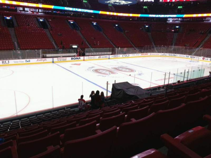 Seating view for Centre Bell Section 115 Row k Seat 10