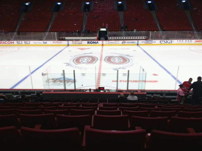 Seating view for Centre Bell Section 113 Row h Seat 8