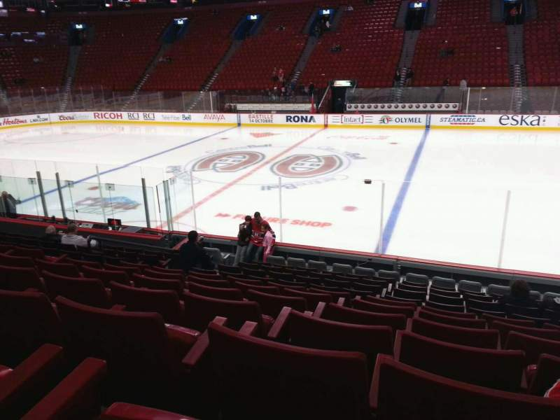 Seating view for Centre Bell Section 112 Row g Seat 8