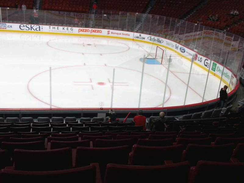 Seating view for Centre Bell Section 111 Row g Seat 7
