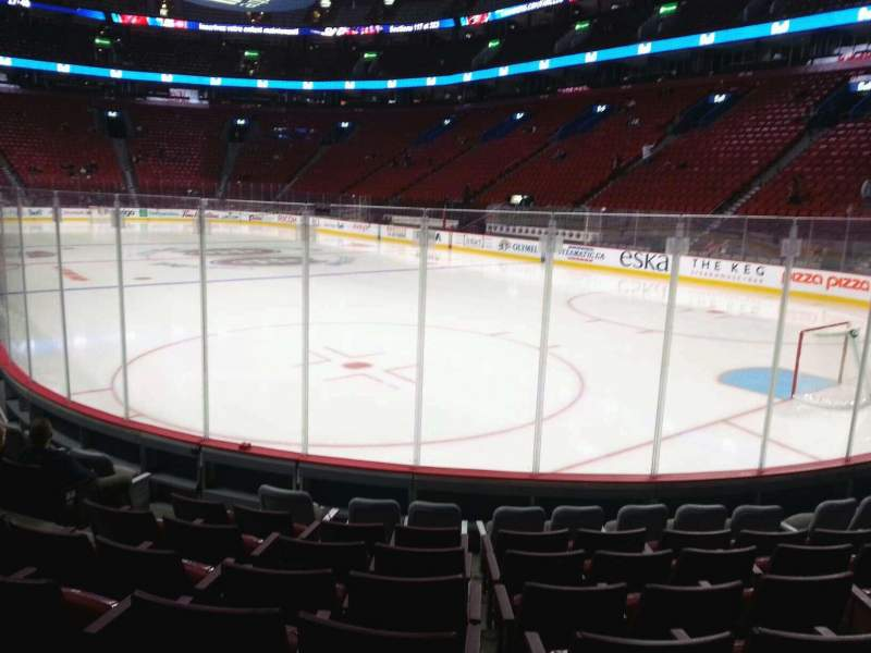 Seating view for Centre Bell Section 109 Row b Seat 4