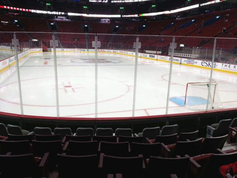 Seating view for Centre Bell Section 108 Row a Seat 5