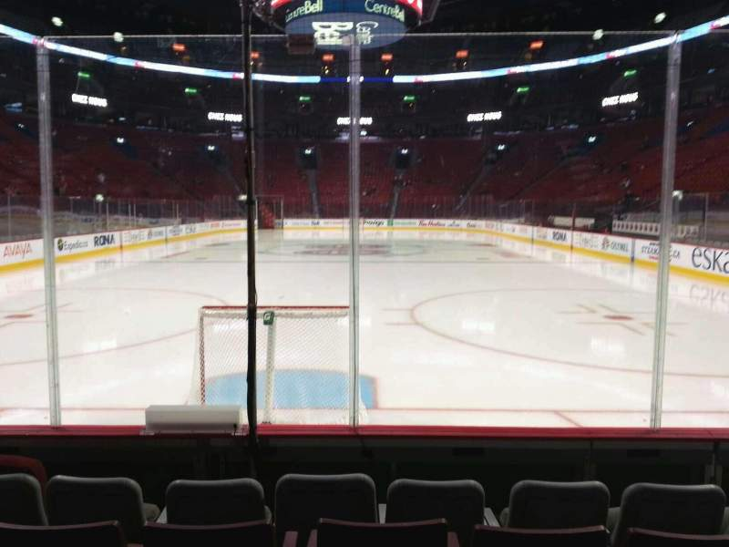 Seating view for Centre Bell Section 107 Row ee Seat 6