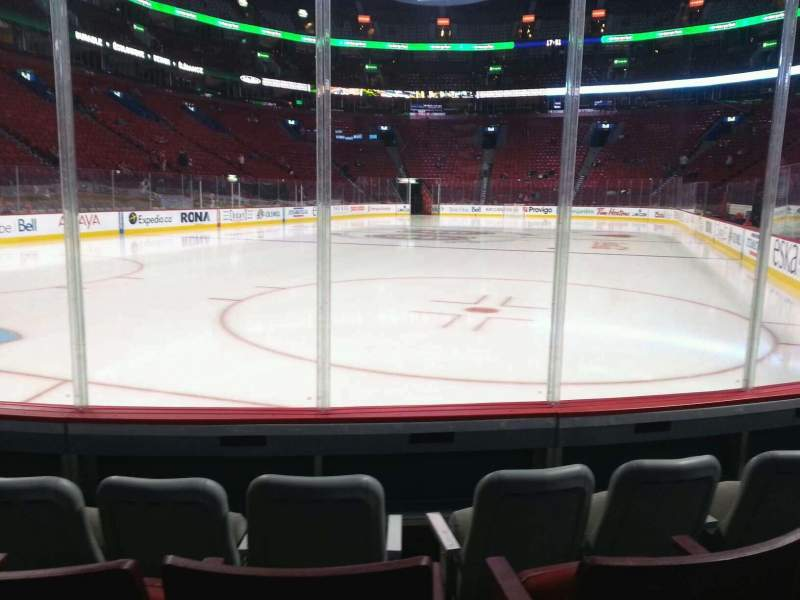 Seating view for Centre Bell Section 106 Row dd Seat 4