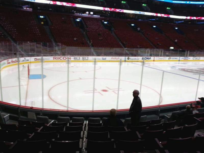 Seating view for Centre Bell Section 104 Row c Seat 8