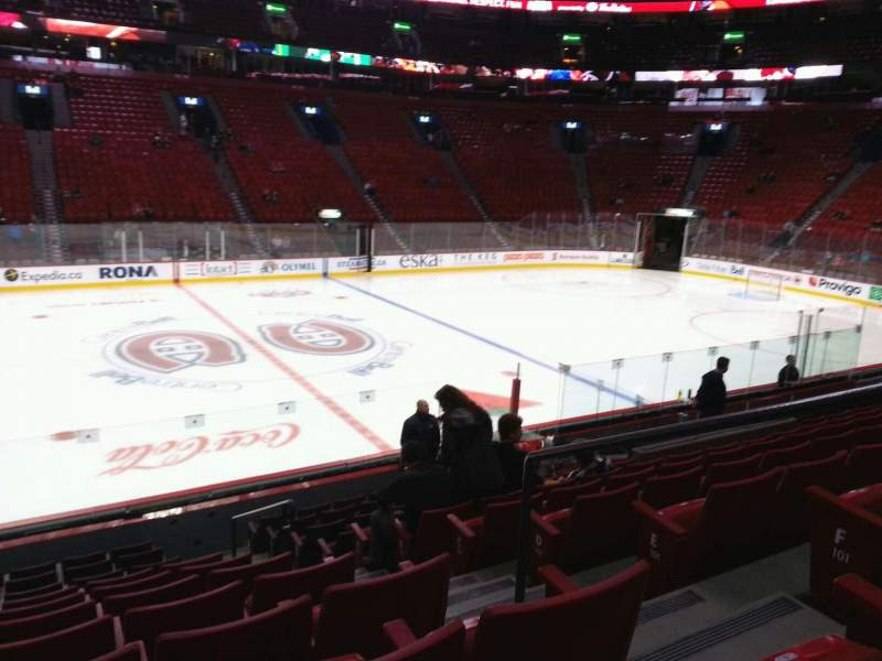 Seating view for Centre Bell Section 102 Row h Seat 3