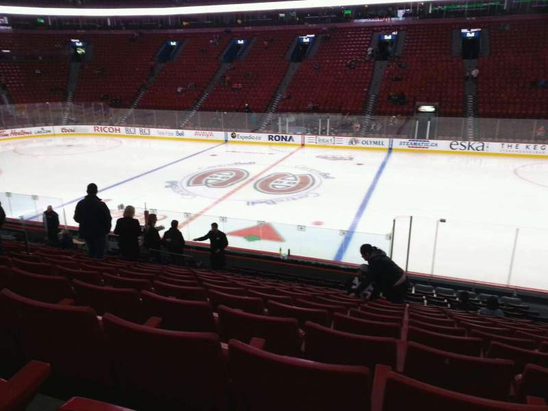 Seating view for Centre Bell Section 124 Row L Seat 6