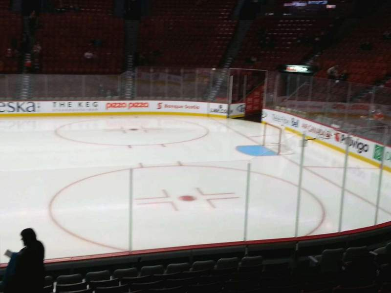 Seating view for Centre Bell Section 123 Row f Seat 11