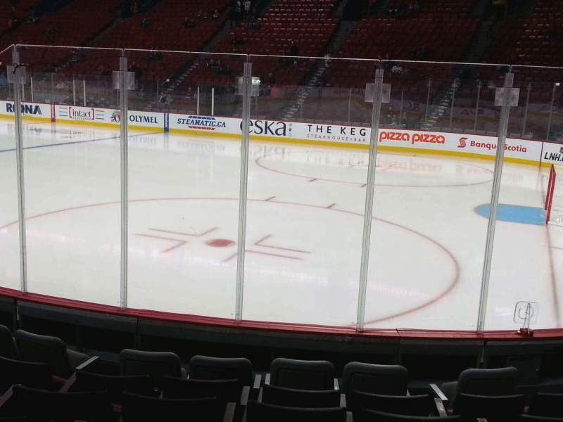 Seating view for Centre Bell Section 122 Row a Seat 6