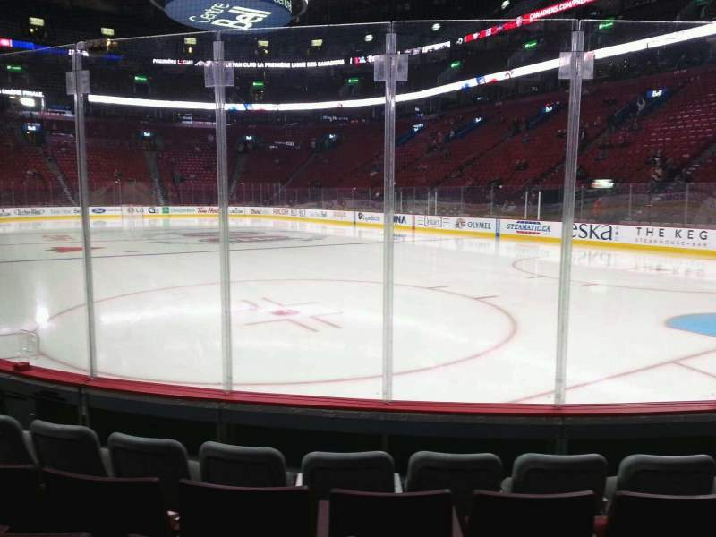 Seating view for Centre Bell Section 121 Row ee Seat 1