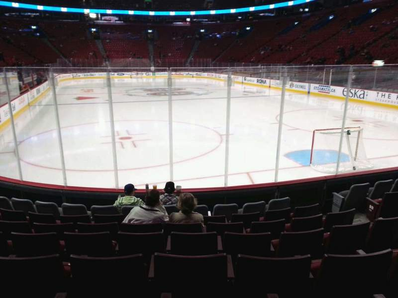 Seating view for Centre Bell Section 120 Row b Seat 6