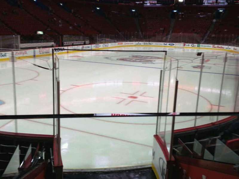 Seating view for Centre Bell Section 118 Row c Seat 1