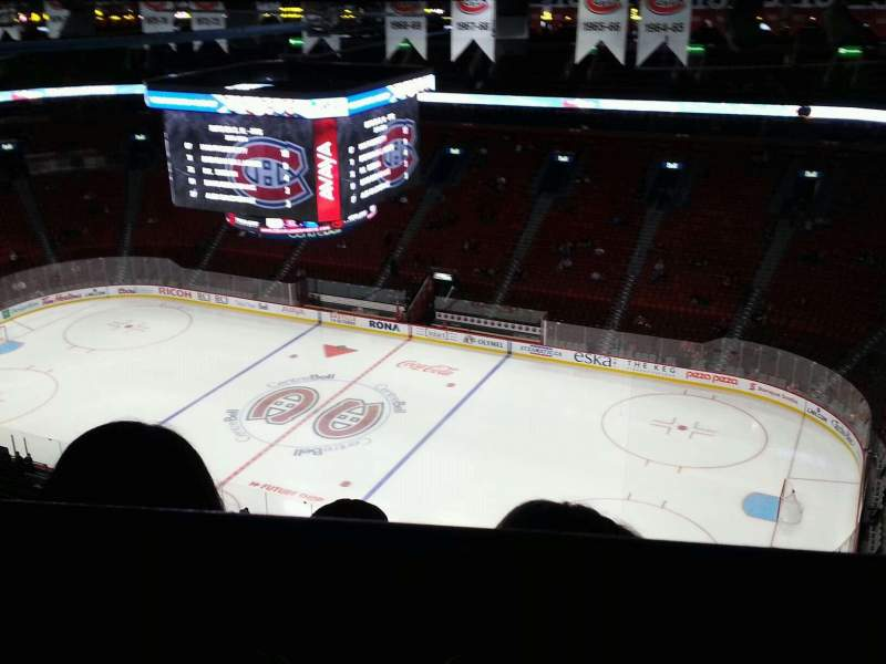 Seating view for Centre Bell Section 316 Row b Seat 5