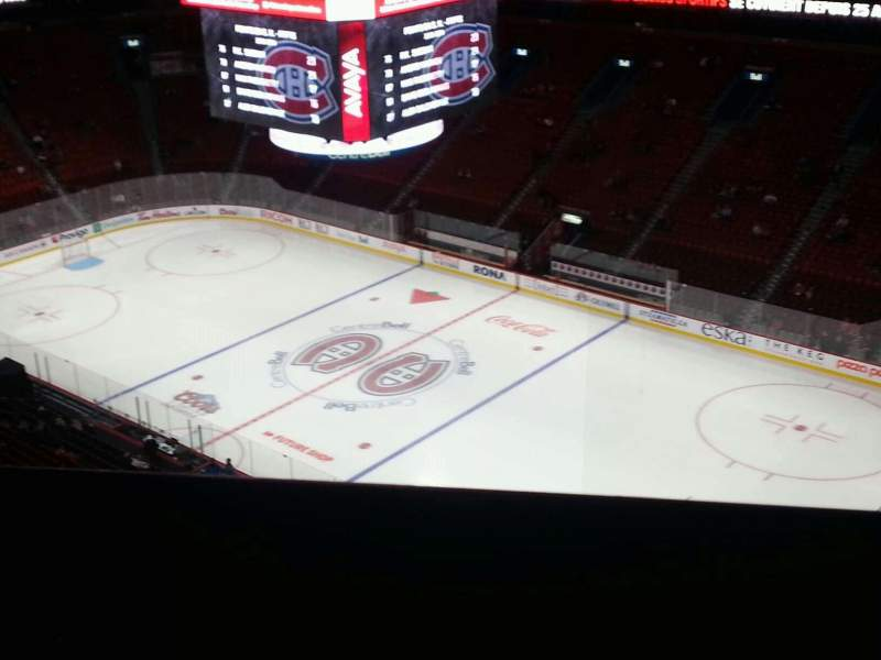 Seating view for Centre Bell Section 315 Row c Seat 7