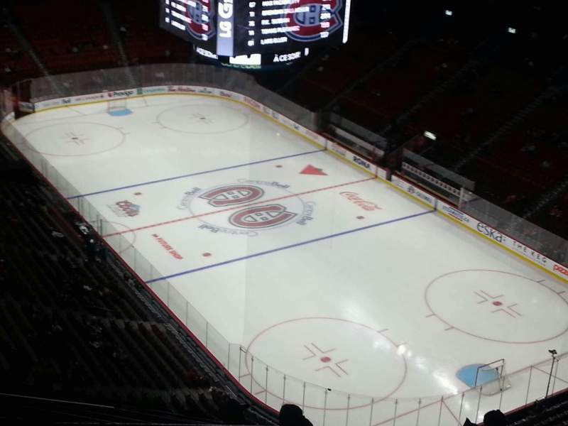 Seating view for Centre Bell Section 414 Row b Seat 10
