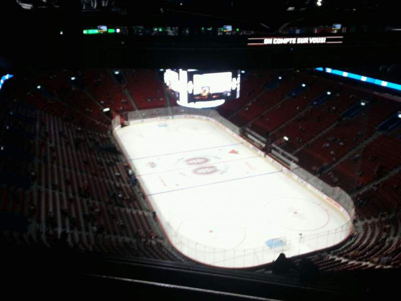 Seating view for Centre Bell Section 412 Row c Seat 12